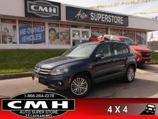 Used 2016 Volkswagen Tiguan Special Edition  NAV ROOF CAM HS for sale in St. Catharines, ON