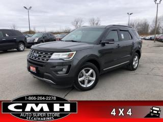 Used 2017 Ford Explorer XLT  4X4 LEATH NAV CAM P/SEAT 7-PASS for sale in St. Catharines, ON
