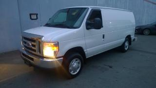 Used 2014 Ford Econoline E-150 Cargo Van Workshop Van with Shelving and Bulkhead Divider for sale in Burnaby, BC