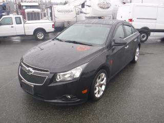 Used 2014 Chevrolet Cruze 1LT Manual for sale in Burnaby, BC