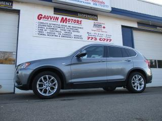 Used 2013 BMW X3 xDrive28i for sale in Swift Current, SK