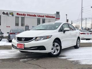 Used 2015 Honda Civic Sedan LX - Bluetooth - Rear Camera - LIKE NEW!! for sale in Mississauga, ON