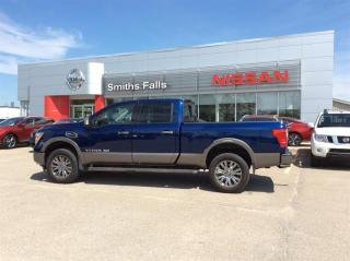 Used 2019 Nissan Titan XD Crew Cab XD Platinum 4x4 Two-Tone for sale in Smiths Falls, ON