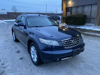 Used 2007 Infiniti FX35 LEATHER I Roof I Heated seats I Good Condition for sale in Toronto, ON