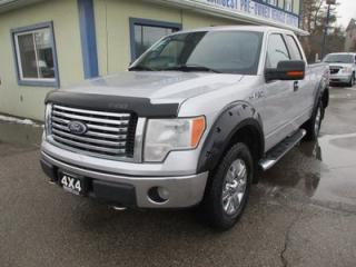Used 2010 Ford F-150 WORK READY XLT EDITION 6 PASSENGER 5.4L - V8.. 4X4.. EXT-CAB.. SHORTY.. BACK-UP CAMERA.. CD/AUX INPUT.. POWER PEDALS.. POWER REAR WINDOW.. for sale in Bradford, ON