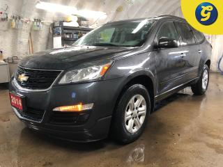 Used 2014 Chevrolet Traverse 8 Passenger * On Star * DVD player * Front and rear climate controls * Automatic headlights * Phone connect * Hands free steering wheel controls * Cru for sale in Cambridge, ON