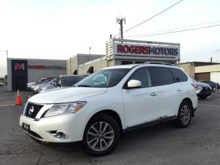 Used 2015 Nissan Pathfinder SL 4WD - NAVI - 7 PASS - PANO ROOF - 360 CAMERA for sale in Oakville, ON