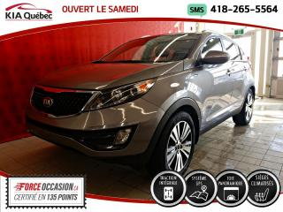 Used 2015 Kia Sportage EX* LUXE* AWD* GPS* TOIT PANO* CUIR* for sale in Québec, QC