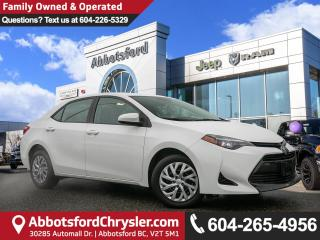 Used 2018 Toyota Corolla CE *LOCALLY DRIVEN* for sale in Abbotsford, BC