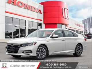 New 2020 Honda Accord Hybrid Touring EV-CVT TRANSMISSION | HEAD-UP DISPLAY | REMOTE ENGINE STARTER for sale in Cambridge, ON