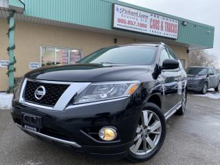 Used 2014 Nissan Pathfinder Platinum for sale in Bolton, ON