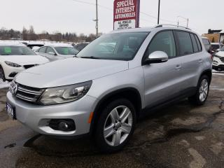 Used 2014 Volkswagen Tiguan Comfortline 4 MOTION !!! LEATHER !!! SUNROOF !!! for sale in Cambridge, ON
