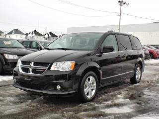 Used 2019 Dodge Grand Caravan CREW PLUS *CUIR*DVD*GPS*PORTES ÉLEC* for sale in Brossard, QC