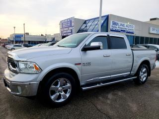 Used 2016 RAM 1500 Longhorn DIESEL|LIMITED LONGHORN|NAVIGATION|LEATHER for sale in Concord, ON