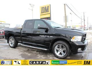 Used 2012 RAM 1500 SPORT QUAD 4X4  HEMI 5.7L CAMERA RECUL DÉMARREUR for sale in Salaberry-de-Valleyfield, QC