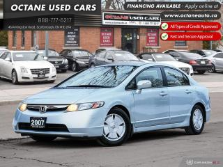 Used 2007 Honda Civic Hybrid Accident-Free! Ontario Vehicle! for sale in Scarborough, ON