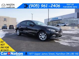 Used 2016 Mazda MAZDA3 GX | 6 SPEED | TOUCHSCREEN | REAR CAM | BLUETOOTH for sale in Hamilton, ON