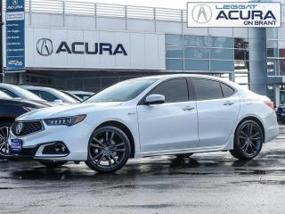Used 2018 Acura TLX Tech A-Spec ASPEC | NAV | NEWTIRES | NEWFRONTBRAKES | OFFLEASE for sale in Burlington, ON