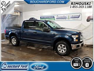 Used 2017 Ford F-150 SuperCrew 4X4 XLT for sale in Rimouski, QC