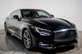 Used 2017 Infiniti Q60 AWD 3.0T CUIR TOIT NAV MAGS for sale in St-Hubert, QC