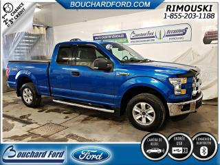 Used 2015 Ford F-150 Extended Cab XLT 4x4 for sale in Rimouski, QC