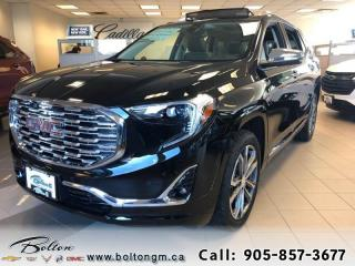 New 2020 GMC Terrain Denali - Leather Seats - Fog Lamps for sale in Bolton, ON