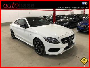 Used 2017 Mercedes-Benz C-Class C43 AMG 4MATIC COUPE DISTRONIC PREMIUM RED INT! for sale in Vaughan, ON