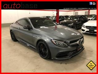 Used 2017 Mercedes-Benz C-Class C63 S AMG EDITION 1 ! RARE FIND ! BEST PRICED IN CANADA ! for sale in Vaughan, ON