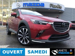 Used 2019 Mazda CX-3 GT AWD AUTO CUIR TOIT MAGS NAVIGATION for sale in Mascouche, QC