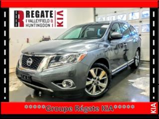 Used 2016 Nissan Pathfinder Platinum V6 AWD **DVD**Système de navigation* BALANCE DE GARANTIE DU MANIFACTURIER for sale in Salaberry-de-Valleyfield, QC