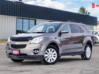 Used 2011 Chevrolet Equinox 2LT,REMOTE START,R/V CAM,PWR T/GATE,PWR S/ROOF for sale in Orillia, ON