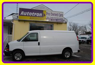 Used 2013 GMC Savana 2500 3/4 Ton Cargo Van, A/C, P. Locks, Divider for sale in Woodbridge, ON