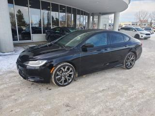 Used 2015 Chrysler 200 S; SUNROOF, NAVI, BACKUP CAMERA, HEATED SEATS/WHEEL AND MORE for sale in Edmonton, AB