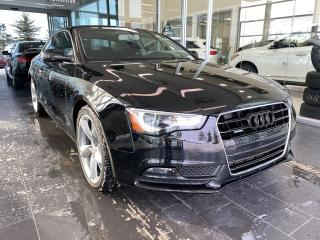 Used 2014 Audi A5 Komfort AWD, SUNROOF, POWER HEATED LEATHER SEATS, CRUISE CONTROL for sale in Edmonton, AB