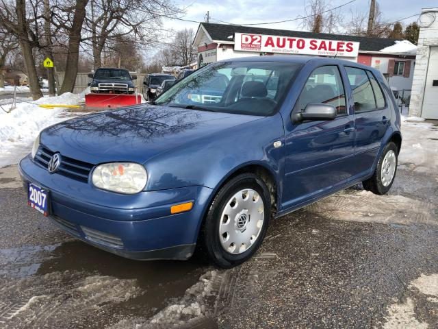 2007 Volkswagen City Golf 2.0L/Automatic/Comes Certified/Heated Seats