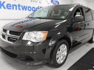 Used 2014 Dodge Grand Caravan SXT with rear DVD entertainment system and rear climate control for sale in Edmonton, AB
