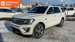 New 2020 Ford Expedition KING RANCH 400A 3.5L V6 Ecoboost, Heated/Ventilated Seats, Heated Steering Wheel, Auto Start/Stop, Forward and Reverse Sensing System, Reverse Camera System, Navigation, Remote Vehicle Start, and Trai for sale in Edmonton, AB