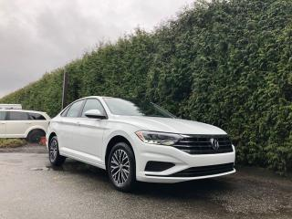 Used 2019 Volkswagen Jetta Highline + SUNROOF + LEATHER HEATED FT SEATS + BACK-UP CAMERA + NO EXTRA DEALER FEES for sale in Surrey, BC