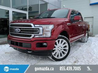 Used 2018 Ford F-150 Limited 4x4 SuperCrew Cab Styleside 145.0 in. WB for sale in Edmonton, AB
