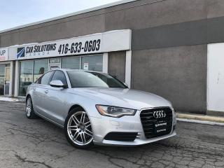 Used 2014 Audi A6 2.0T Progressiv for sale in Toronto, ON