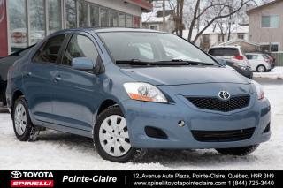 Used 2010 Toyota Yaris ***RÉSERVÉ***LE SEDAN for sale in Pointe-Claire, QC