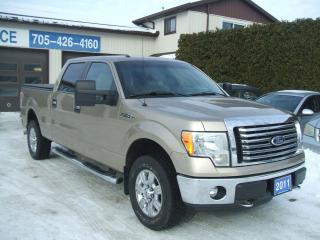 Used 2011 Ford F-150 XLT/XTR, 4X4 Crew Cab for sale in Beaverton, ON