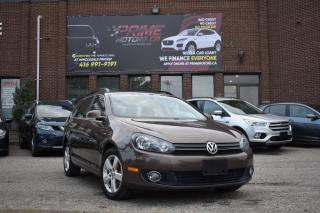 Used 2014 Volkswagen Golf Wagon WOLFSBURG EDITION | PANO ROOF | NAV | FULLY LOADED for sale in Mississauga, ON