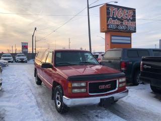 Used 1997 GMC Sierra 1500 **TOPPER**8 CYLINDER*CLEAN TRUCK**AS IS SPECIAL for sale in London, ON