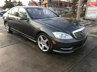 Used 2011 Mercedes-Benz S450 4MATIC $18400,NAV,B,U/CAMERA,SAFETY3YEARS WARRANTY INCLUD for sale in Toronto, ON
