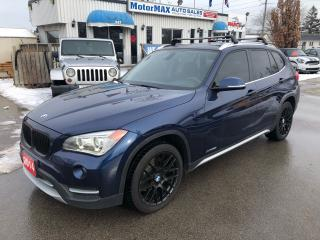 Used 2014 BMW X1 X1-AWD-NAVI- ACCIDENT FREE for sale in Stoney Creek, ON