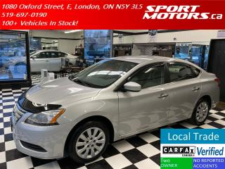 Used 2013 Nissan Sentra S+New Tires+Bluetooth+A/C+Keyless Entry+Rust Proof for sale in London, ON