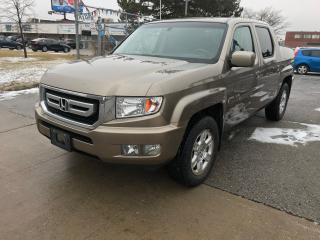 Used 2010 Honda Ridgeline 99K,4WD,CREW,SAFETY+3YEARS WARRANTY INCLUDED for sale in Toronto, ON