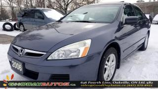 Used 2006 Honda Accord SE|LOW KM|SUNROOF|CERTIFIED for sale in Oakville, ON