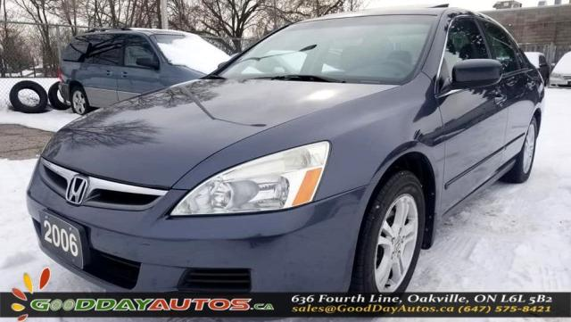 2006 Honda Accord SE|LOW KM|SUNROOF|CERTIFIED